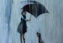 ....in the rain