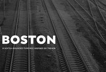Boston Font Download