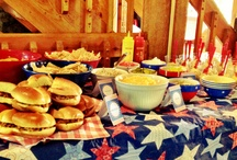 Independence Day / Ideas for my daughter's birthday parties.
