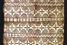 Polynesia graphic pattern / Graphic pattern made in the islands of the Pacific Ocean