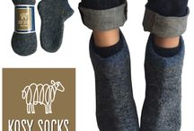 Kosy Sheep New Concept of Homewear Socks / Home Wool socks and booties for the whole family, knitted by people with heart in respecting the environment. Ethcial and sustainable brand.