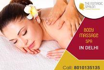 Body Massage Spa In Delhi / The Nomadic spalon offers the best body massage spa in Delhi/NCR.