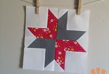 9 inch finished quilt blocks (9.5 inches unfinished)