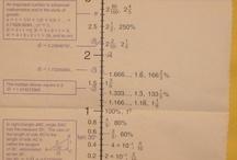 Matika - záporná čísla // Maths - negative integer