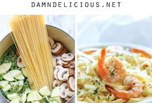 Yummy Pasta Recipes / Do you love Pasta? Check out these easy pasta recipes! Perfect for an easy dinner.