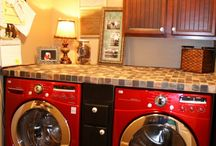 Laundry/Mud-Room Ideas / by Kimberly Huddy