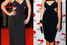 Duelo de divas / Distinta famosa y mismo vestido. ¿A quién le sienta mejor?