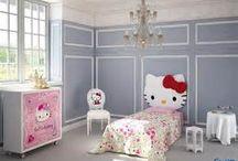 Mooie slaapkamer voor de meiden in de toekomst