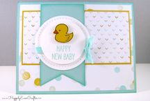 Papercrafting- cards for Babies