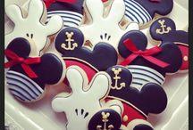 galletas decoradas Mickey mousse
