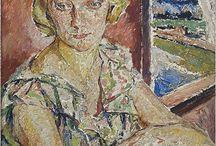 Mela Muter- właściwie Maria Melania Mutermilchowa z Klingslandów / Utalentowana malarka i świetna portrecistka o własnym, specyficznym stylu nie dającym się podporządkować pod żadne nurty.