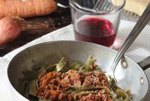 Ricette - Tagliatelle carne o verdure