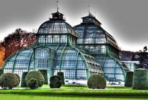 Greenhouse ★ Palmhouse ★ Garden Under The Roof / palmhouse, palmenhaus, greenhouse, botanical garden