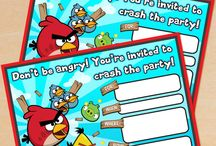 Angrybirds Birthday party