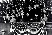 Presidential First Pitches / The tradition of the president throwing out the first pitch dates back to William Howard Taft in 1910.
