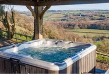 Holiday homes with hot tubs!