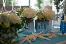 Real Wedding/Theme=Sea blue=