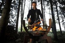 """""""Fire Walk With Me"""" - Nik Baeyens / Vuurkorf 'Fire Walk With Me' van de Antwerpse ontwerper Nik Baeyens. Zijn belangrijkste keywords in zijn designs zijn duurzaamheid, C2C, functionaliteit, originaliteit en bewustzijn."""