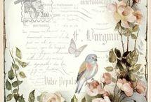 Diseños florales vintage