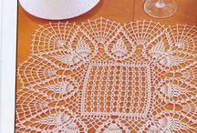 Obrus szydełkowy / tablecloth  Crochet