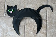 Halloween Ideas for Cats! / Hallowe'en is not just for cats!  This board is for cat lovers who want to participate in this special day with their lovable feline!