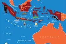 Indonesian maps
