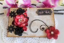 Mini Albums / Mini albums, scrapbook papers, altered tags / by Debbie Patterson (Laughngypsy.etsy.com)