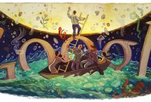 Google doodles / my collection of google doodles over the years