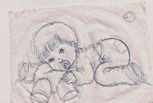 plantillas bebé