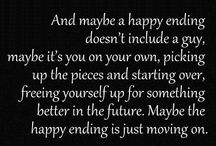 moving on and letting go