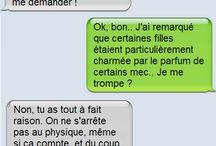 SMS drôle