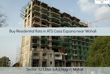 Buy Residential Flats in ATS Casa Espana in Mohali / Construction in full swing. To book your flat in the #opulent #Mediterranean style township, ATS #CasaEspana, call at : 9888449029