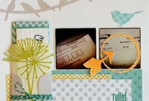 Layout Love / Scrapbooking Layouts that I love. Great ideas and inspiration for making my own pages.
