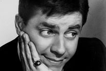 JERRY LEWIS / Jerry Lewis  (born March 16, 1926) is an American comedian, actor, singer, film producer, screenwriter and film director. He is known for his slapstick humor in film, television, stage and radio. He was originally paired up with Dean Martin in 1946, forming the famed comedy team of Martin and Lewis.