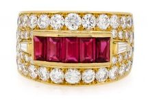 Ruby Rings / Ruby and diamond rings from James Ness & Son Fine Jewellers.