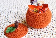 crochet - seasonal decor