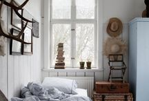 "Clean Vintage Bedrooms / Eclectic mix of old & new that comes together in a style we call ""Clean Vintage""."