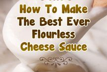 Low carb  cheese sauce & More !