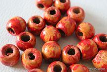 Beads / Glass Beads, Acrylic beads, fimo polymer clay beads