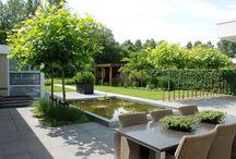Onze tuin moodbord