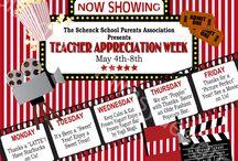 Teacher Appreciation Week Themes Ideas