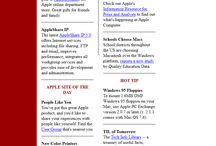 Apple timeline 1997 – 2016 / Look through the development of Apple websites on a timeline.