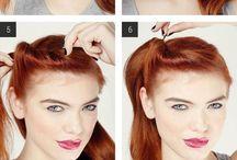 Peinados ,cabello y color .