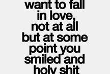 Deep sayings...