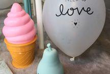 Little Lovely / Detalles kitch para decorar las habitaciones de los pequeños, cumples o celebraciones