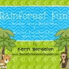 Theme- Rainforest / K-2 lessons, games, crafts, websites and books to go along with a rainforest theme. Contributors- please pin 1:1 ratio (1 paid product per freebie/craft/book/etc).