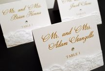 Wedding Place Cards / by Whimsy B. Designs