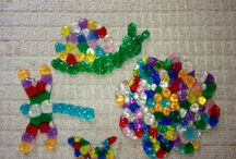 suncatchers made with beads