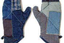J01 Krawattendinge , alte Jeans,neue Sachen