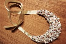 Handmade jewellery / Ručne šité, navliekané alebo inak vyrábané náhrdelníky a iné šperky